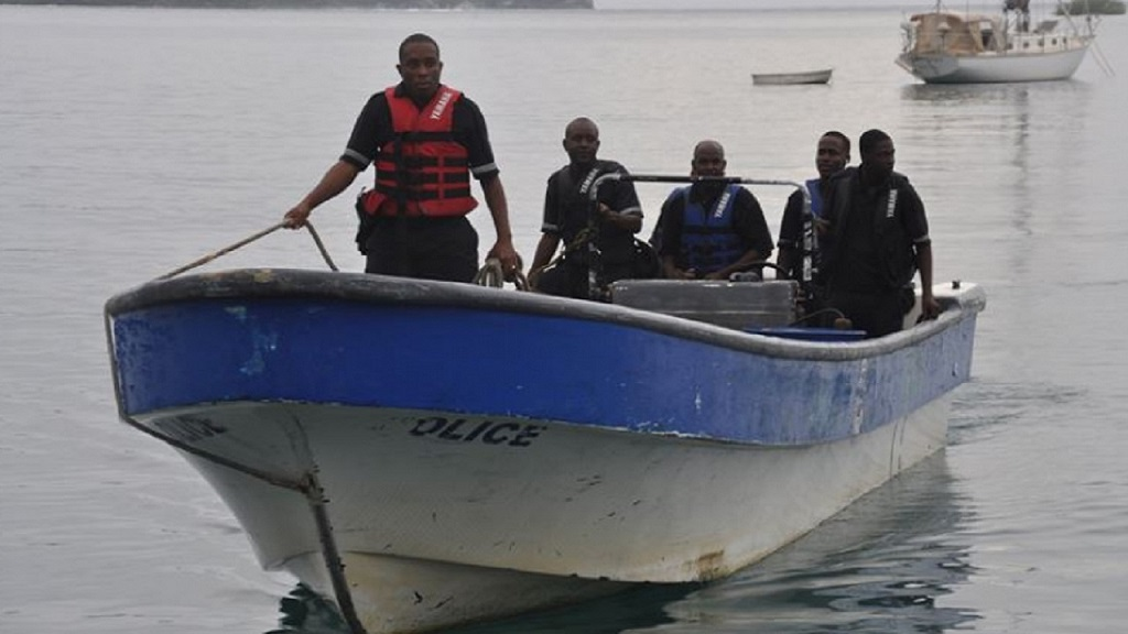 File photo of the Marine Police on duty.