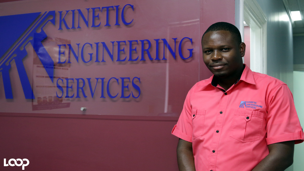 Keon Hinds, Managing Director of Kinetic Engineering.