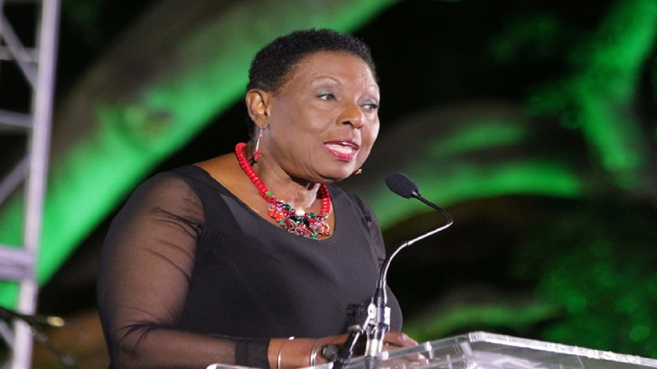 Jamaica's Minister of Sport, Olivia Grange.