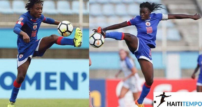 Melchie Dumornay et Nerilia Mondesir. Photo: Haiti Tempo