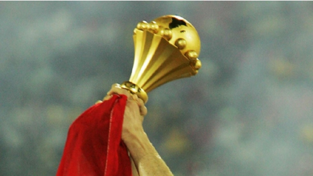 The African Cup of Nations trophy.