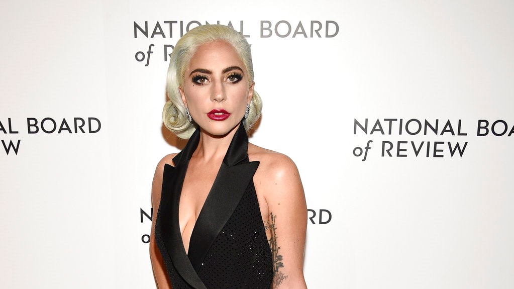 In this Jan. 8, 2019 file photo, Lady Gaga attends the National Board of Review Awards gala at Cipriani 42nd Street in New York. (Photo by Evan Agostini/Invision/AP, File)