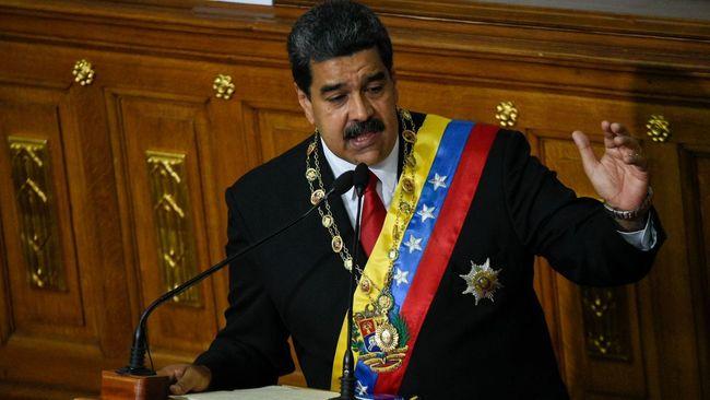 """L'élection présidentielle de dimanche, boycottée par l'opposition qui dénonçait une """"supercherie"""", a été remportée par M. Maduro avec 68% des voix contre 21,2% à son principal adversaire Henri Falcon. (crédit photo : AFP)"""