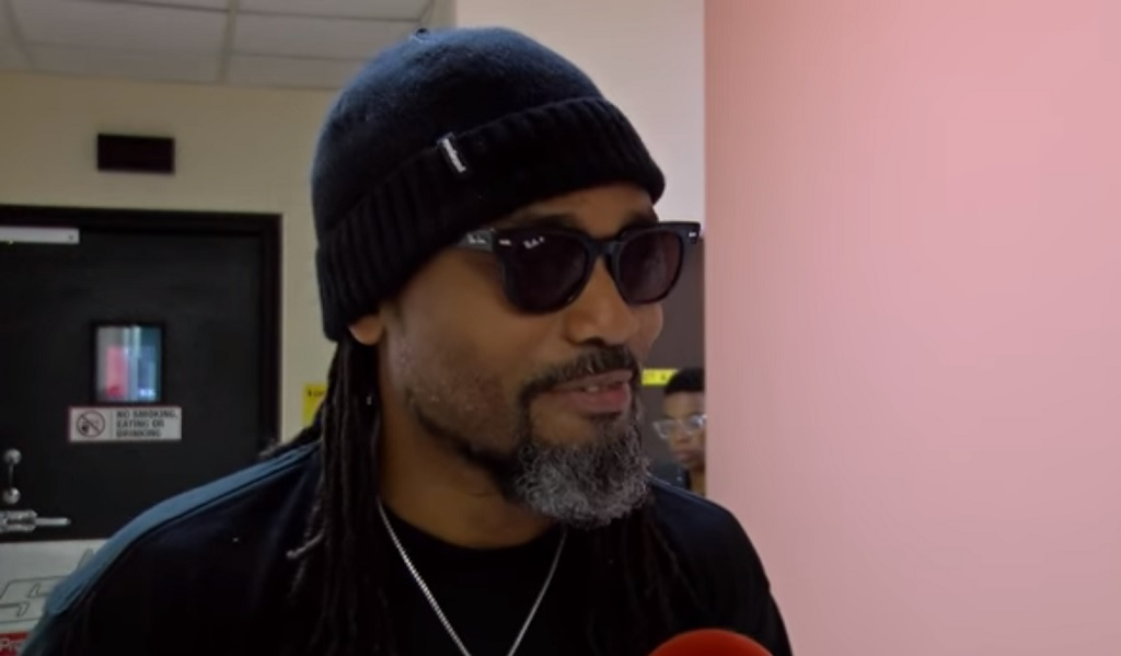 Photo: Machel Montano spoke in support of inclusivity and tolerance during an interview at Slam 100.5FM on January 24, 2019.