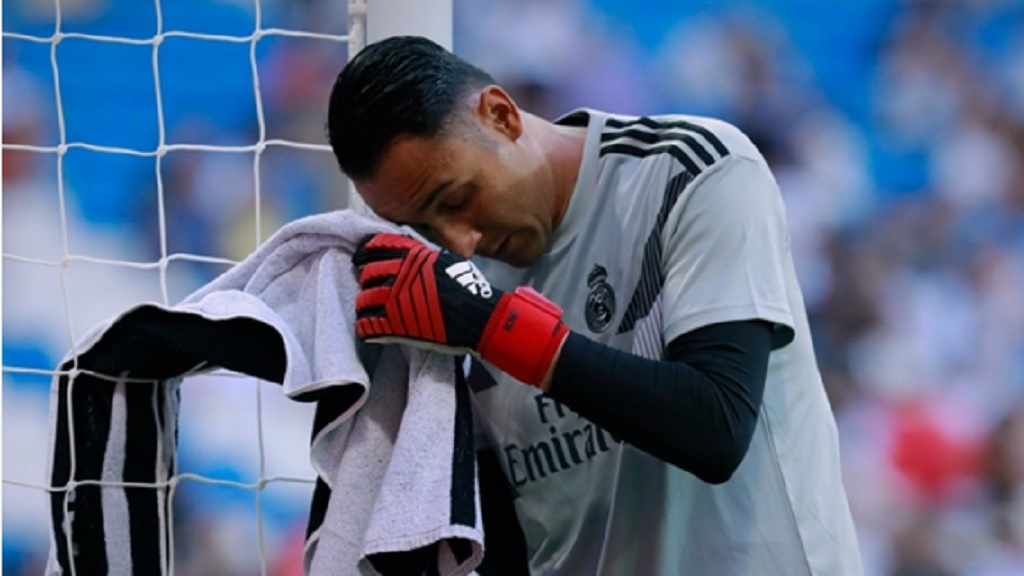 Real Madrid goalkeeper Keylor Navas.