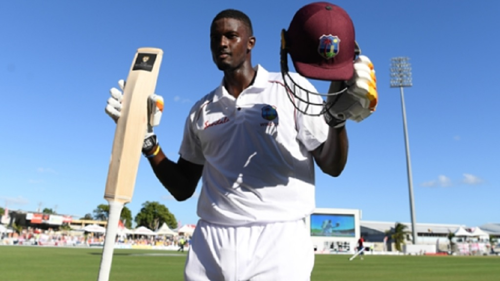 West Indies captain Jason Holder.