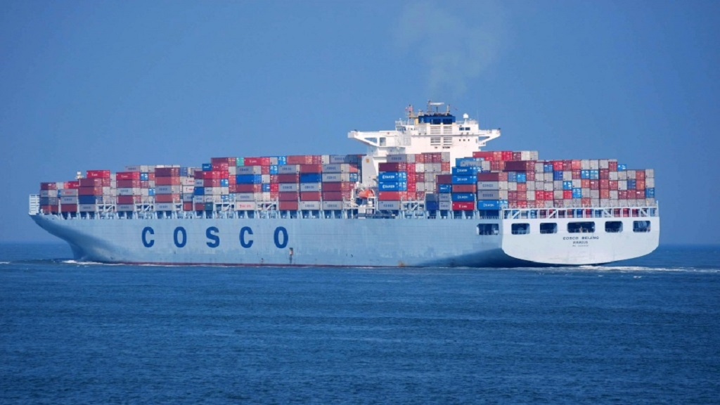 A total of 3,304 moves were handled within 24 hours of operation on the Post-Panamax vessel, Cosco Beijing, which arrived at the terminal on January 24