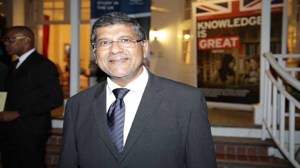 British High Commissioner to Jamaica, Asif Ahmad.