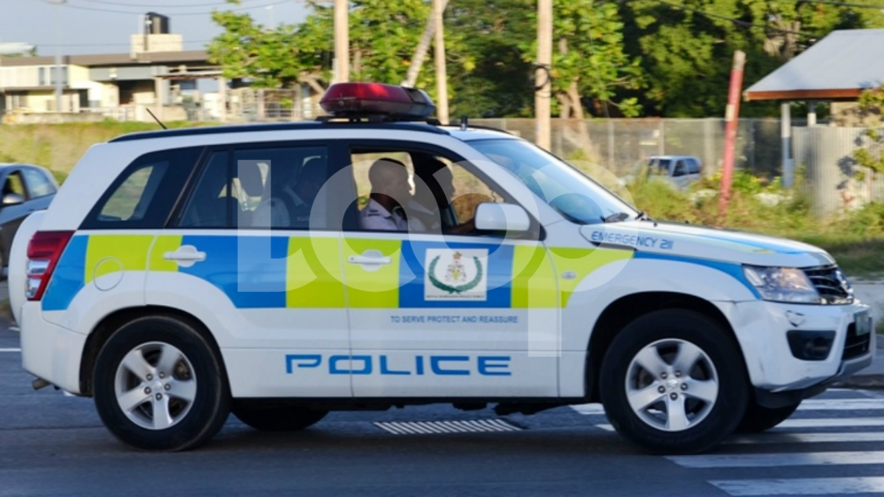 File photo of a Royal Barbados Police Force cruiser.