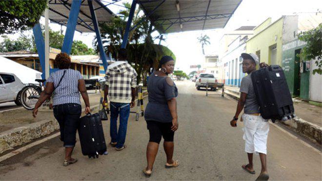 Trois Haïtiens victimes d'une attaque raciste au Brésil. Photo France Info