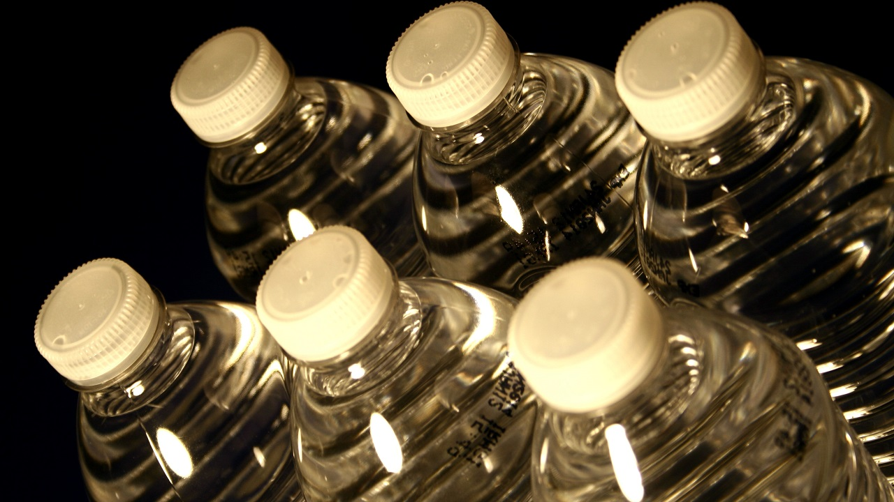 (Image: Plastic bottles in stock image via Pixnio)