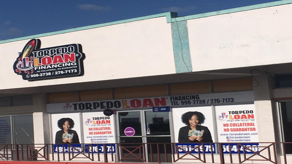 Torpedo Loan's Main office in Portmore Pines Plaza, St Catherine.