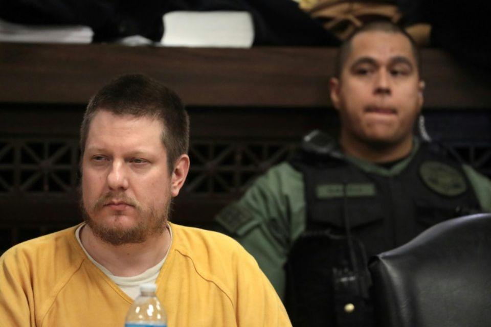 Jason Van Dyke au tribunal de Chicago, le 18 janvier 2019