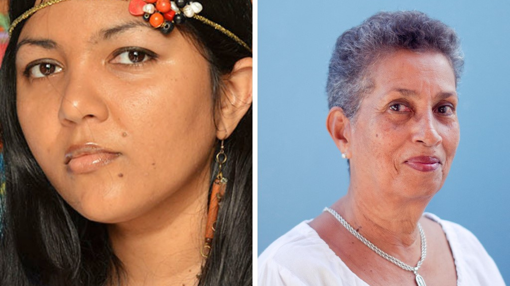 Danielle Boodoo and Barbara Jenkins are past winners of the Johnson and Amoy Caribbean Writers Prize formerly the Hollick Arvon prize.