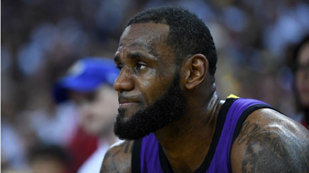 LeBron James sustained an injury on Christmas Day.