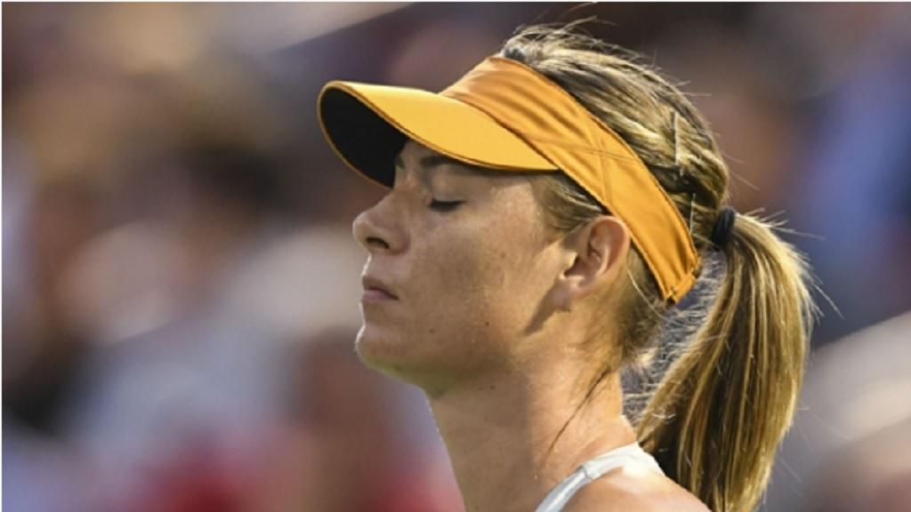 Five-time Grand Slam champion Maria Sharapova.