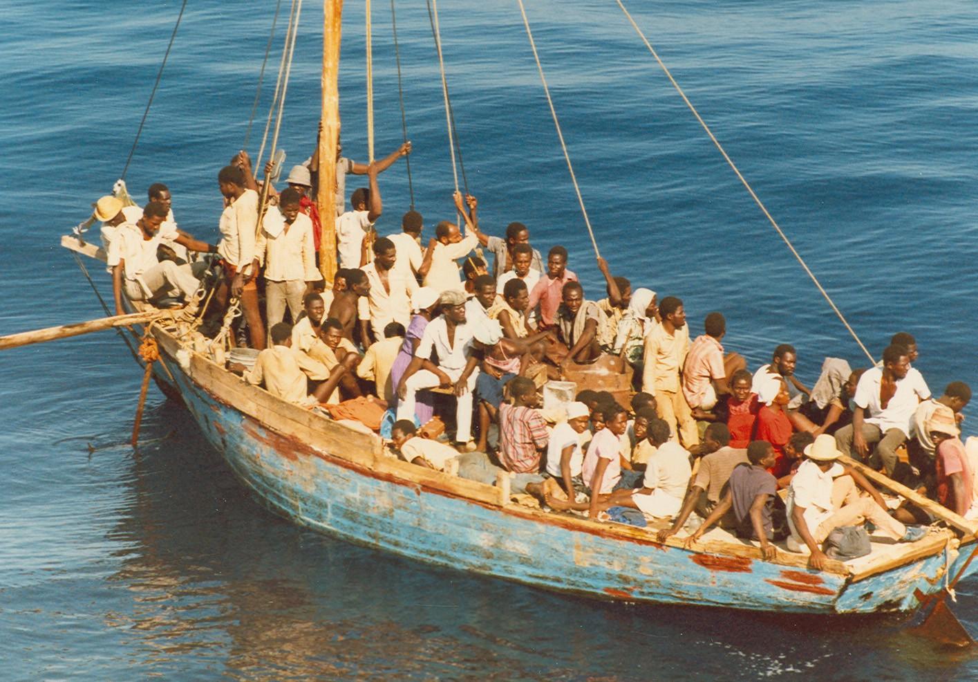 Un enfant Haïtien porté disparu dans les aux côtières américaines. Photo: Flickr