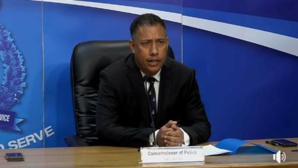 Photo: Police Comissioner Gary Griffith.