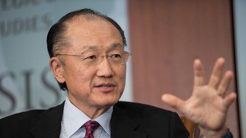 L'ex-président de la Banque mondiale, Jim Yong Kim, le 1er juin 2016 à Washington. AFP