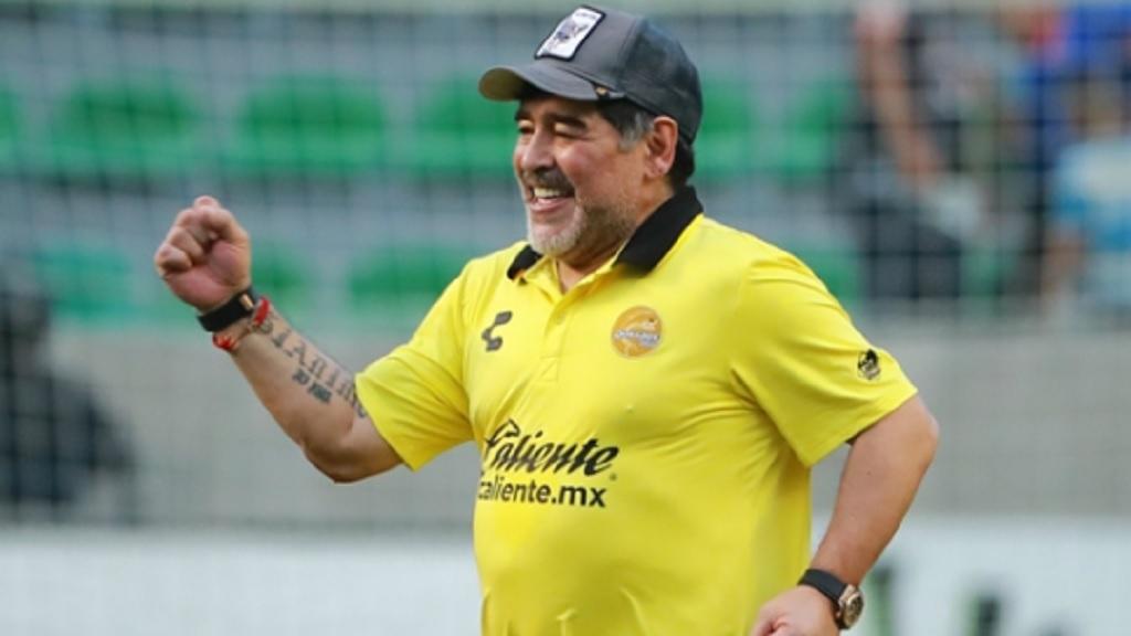 Argentina great Diego Maradona.