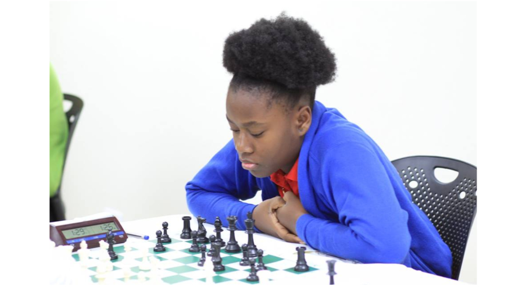 Vanessa Greenidge is defending the female Under-14 title.