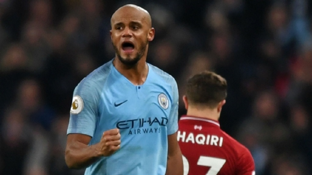 Manchester City captain Vincent Kompany.