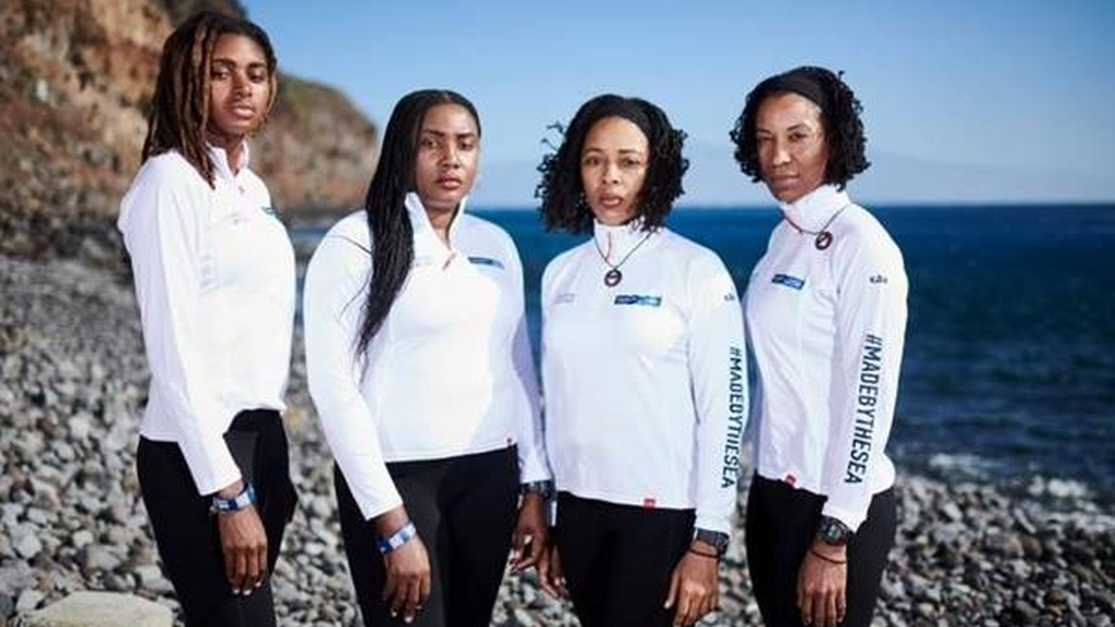 Photo Caption: Team Antigua Island Girls will make history when they become the first all-black female team in the world to row across the Atlantic Ocean, completing the Talisker Whisky Atlantic Challenge (photo credits: Ben Duffy Photography Ltd.)