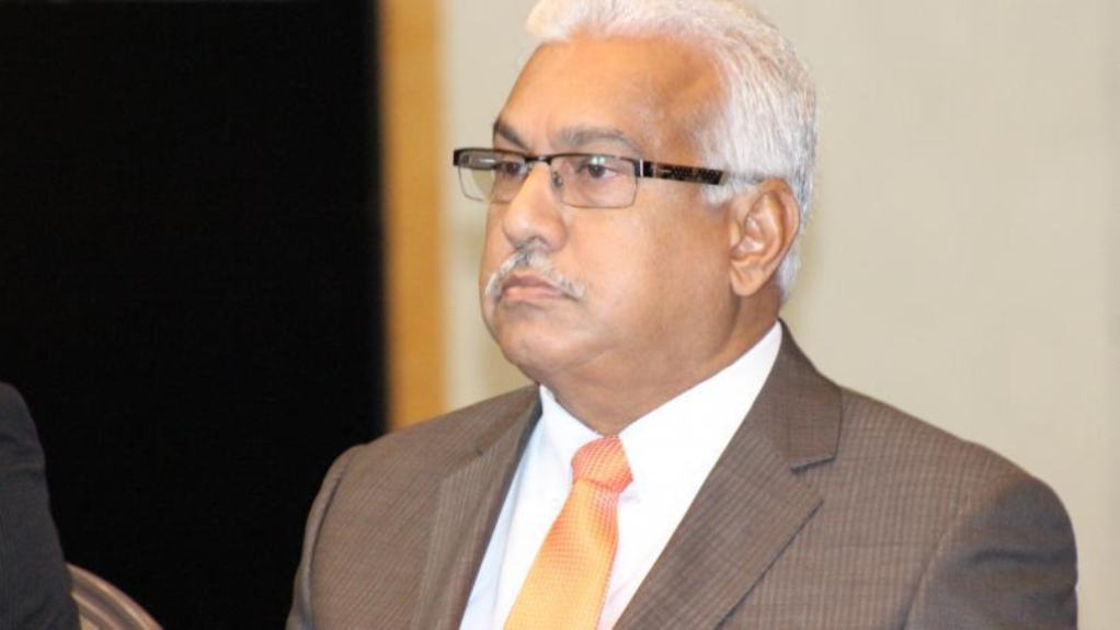 Photo: Health Minister Terrence Deyalsingh
