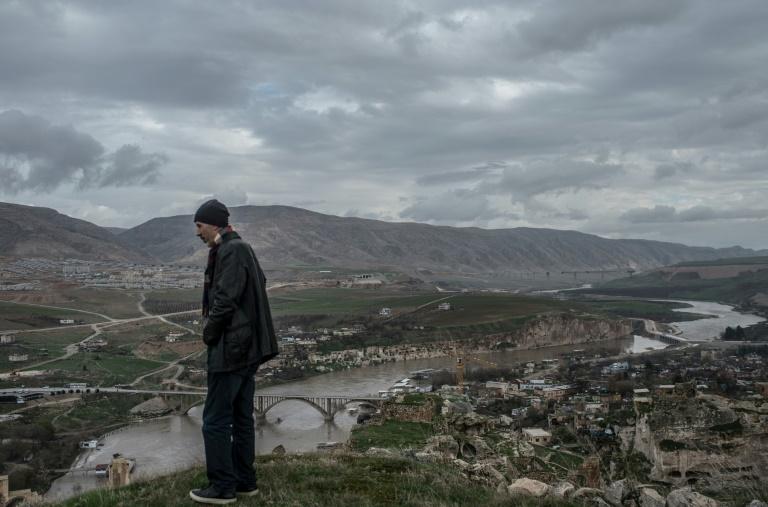 Sur les bords du Tigre à Hasankeyf, en Turquie, le 13 décembre 2018
