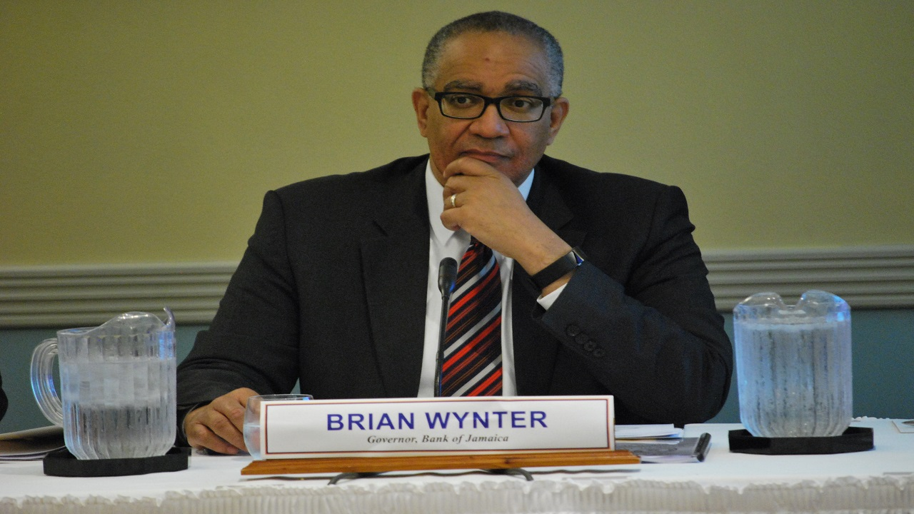 BOJ Governor Brian Wynter.