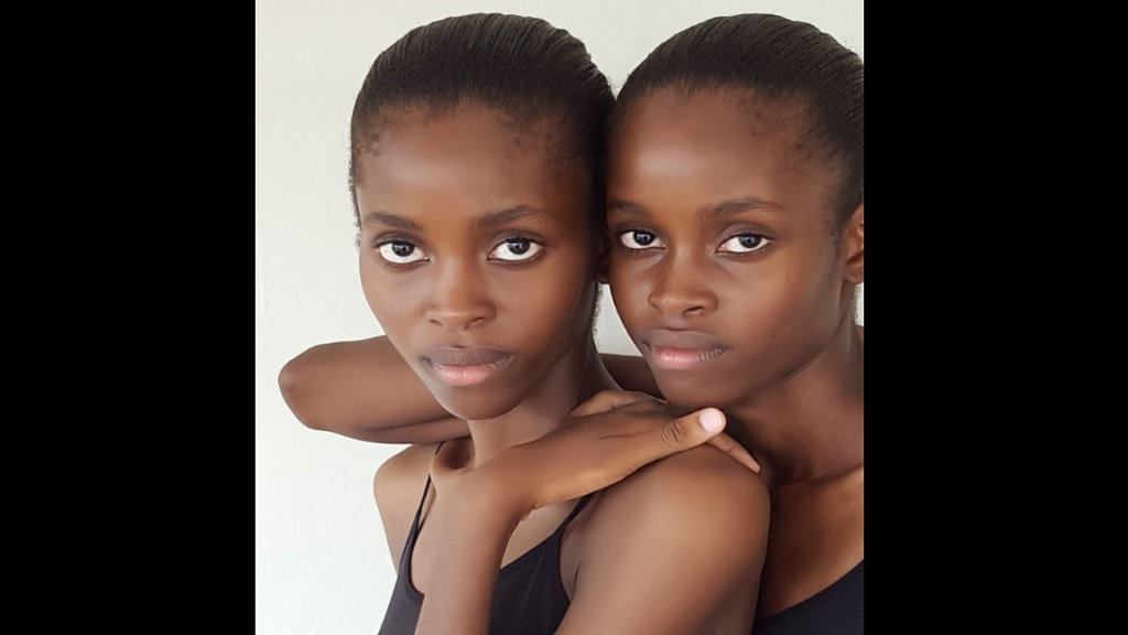 Saint models Shanae and Shanika Mullings