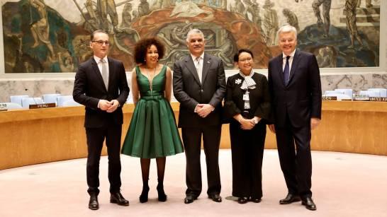 La Rep Dominicaine présente son plan pour présider le Conseil de l'ONU. Photo: Diario Libre