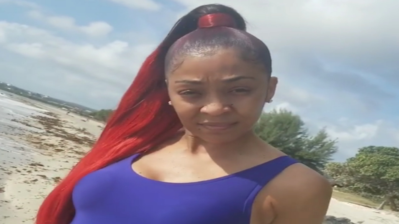 D'Angel uploaded a video over the weekend addressing allegations made by fellow dancehall artiste Spice.