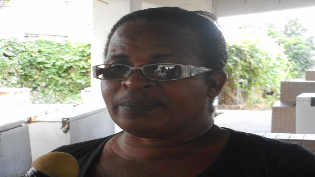 Theodora Daniel, mother of victim Melvin George
