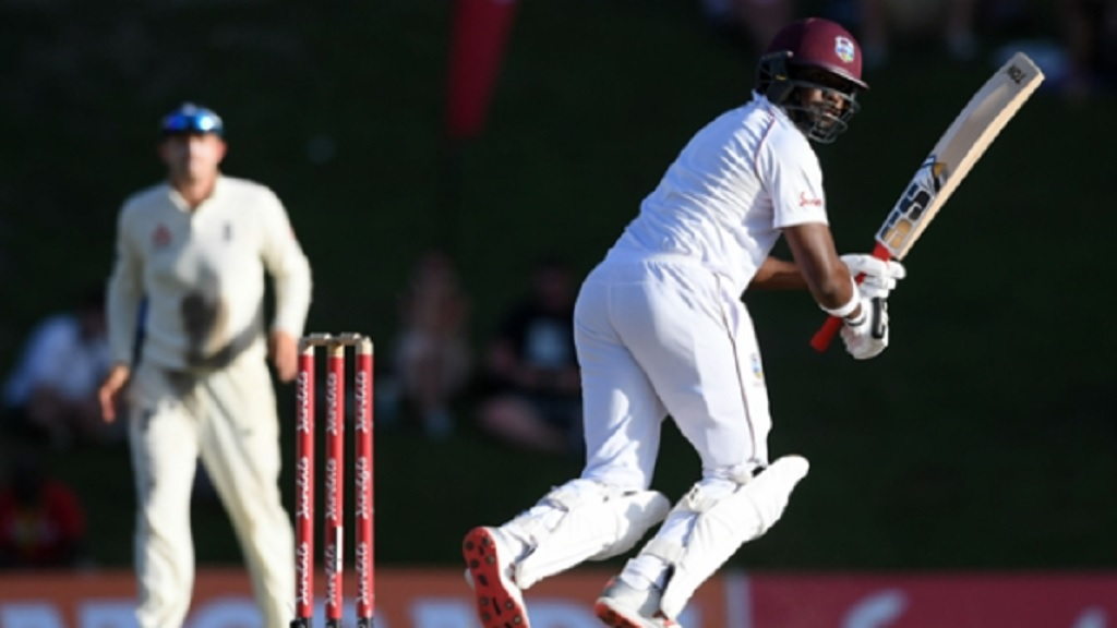 West Indies batsman Darren Bravo.