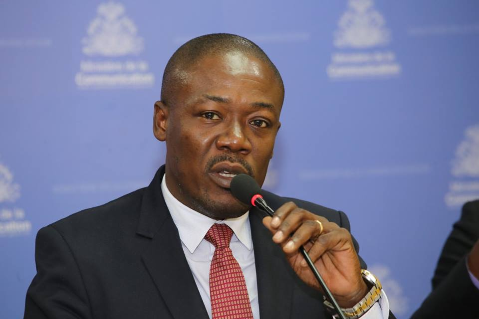 Eddy Jackson Alexis, Secrétaire d'Etat à la communication au gouvernement Céant