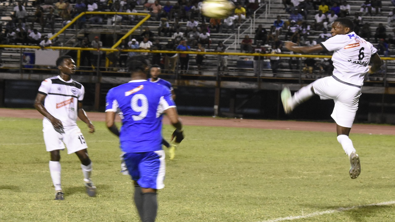Cavalier and Portmore in action (file photo)