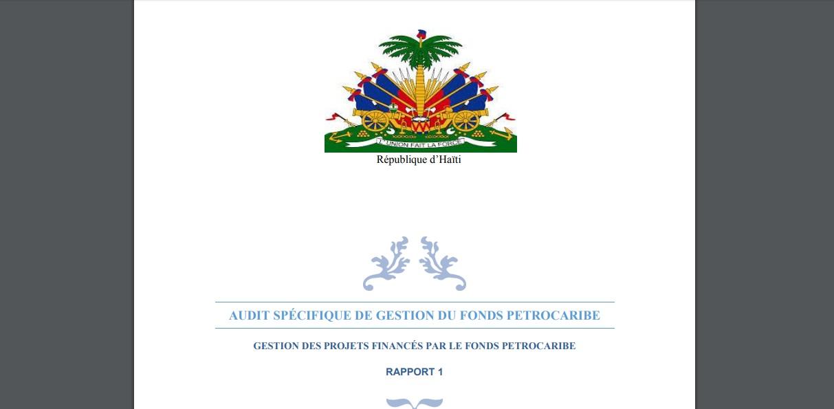 Rapport de la CSCCA sur les fonds Petrocaribe: 2 milliard 258 mille 795 683,56 US$ dilapidés