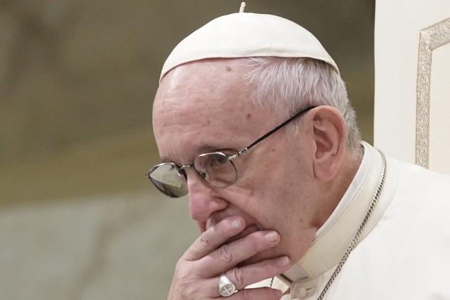 Le pape François - Crédit Photo : LaPresse.ca
