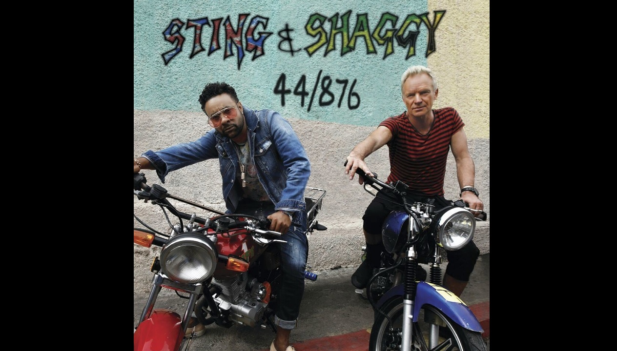 The cover of the Grammy Award-winning album by Shaggy and Sting.