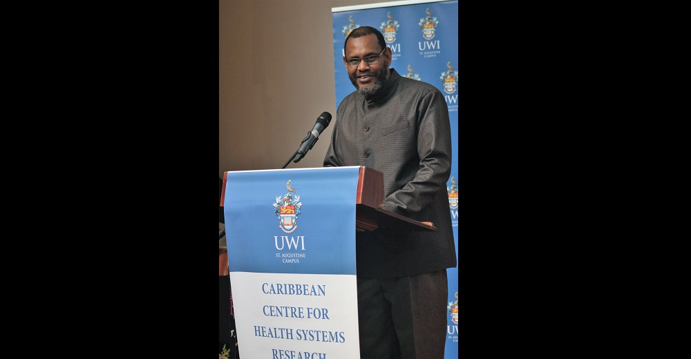 Professor Donald Simeon, Director of the Caribbean Centre for Health Systems Research and Development (CCHSRD).