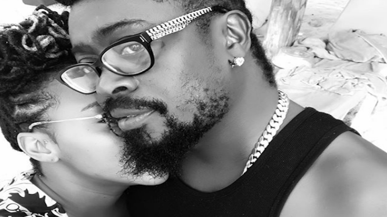 Doting parents Krystal Tomlinson and dancehall entertainer Beenie Man