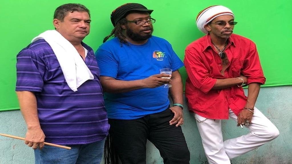 (From left) ATF band members Stephen Lee, Herbie Harris and Wyndon Webb.