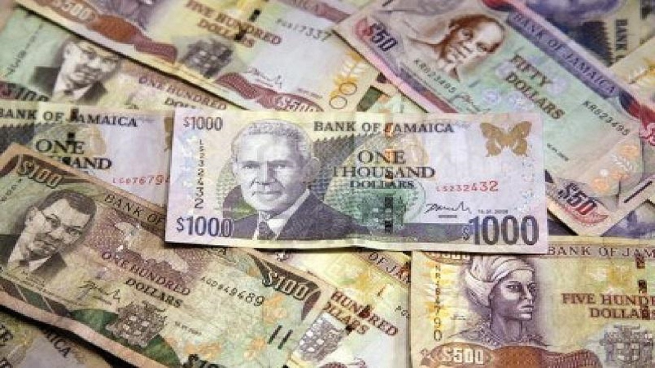 Jamaican Dollar Up 27 Cents Against Us
