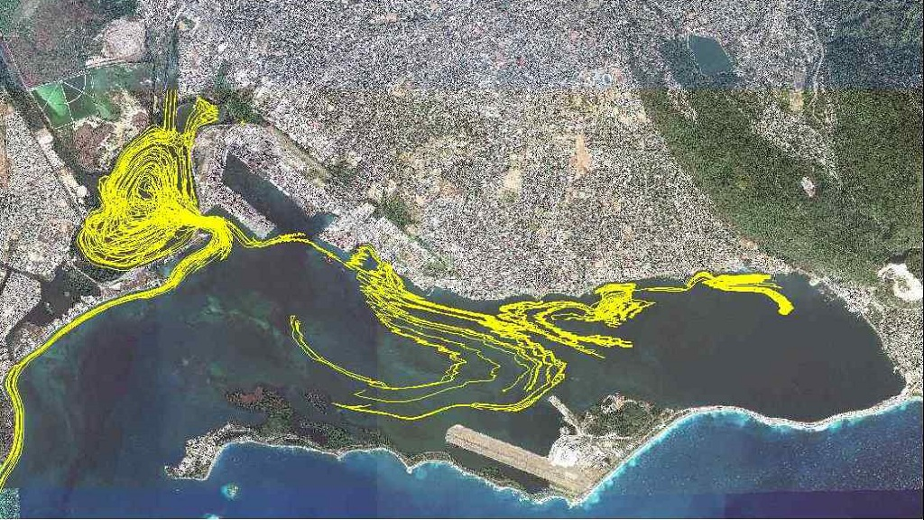 The Mona GeoInformatics Institute (MGI) exercise seeks to look at the nature of solid waste inflows, particularly from gullies into the harbour.