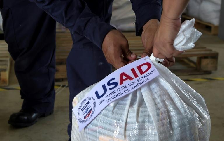 L'aide humanitaire s'accumule à la frontière entre la Colombie et le Venezuela le 8 février 2019