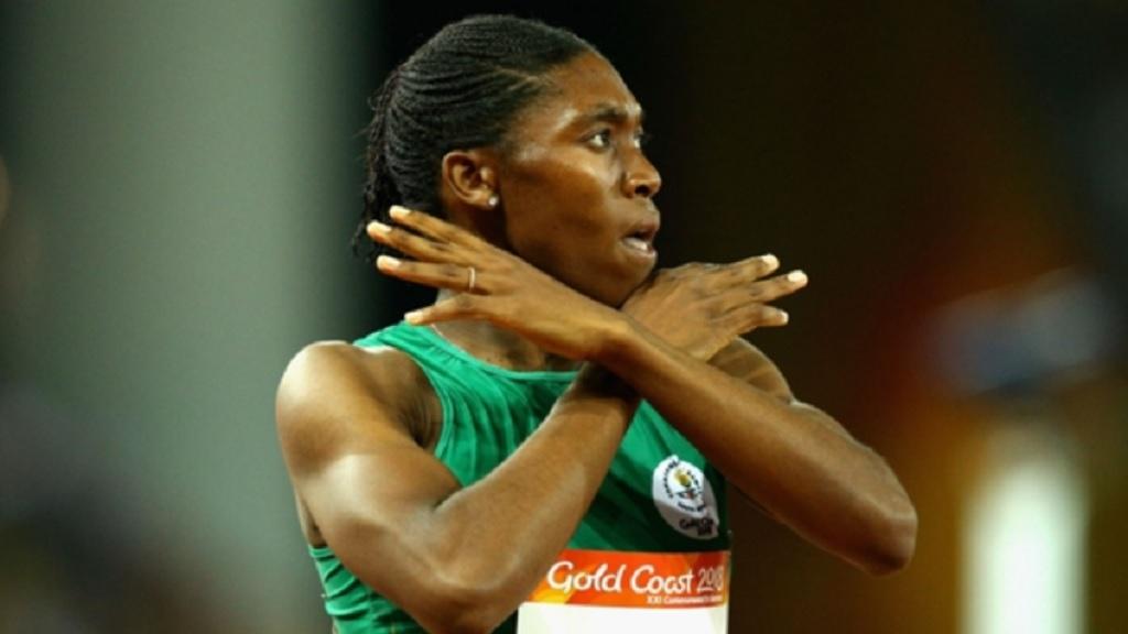 Double Olympic champion Caster Semenya.