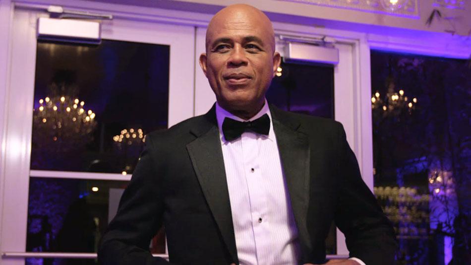 Le chanteur et ancien président haïtien, Michel Joseph Martelly