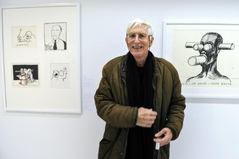 Tomi Ungerer à Strasbourg en novembre 2016