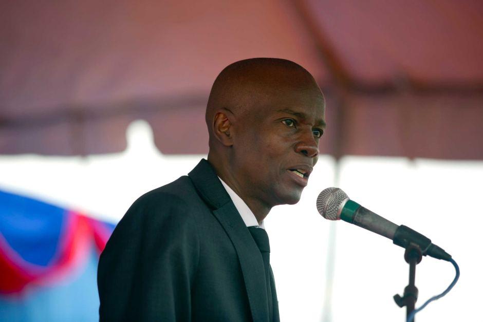 Jovenel Moise, président de la République